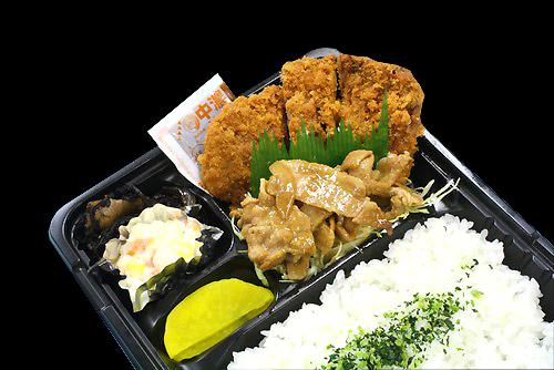 鶏カツ・焼肉弁当