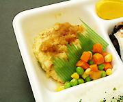 豆腐ハンバーグ弁当 大根おろしソース